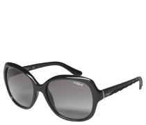 VO 2871-S Sonnenbrille, schwarz, Verlaufsgläser