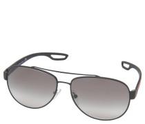 """Sonnenbrille """"SPS 55Q"""", Piloten-Stil, Verlaufsgläser, mit Brillenband"""