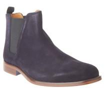 """Chelesa Boots """"Vianello"""", Veloursleder, Zugschlaufe, Blau"""