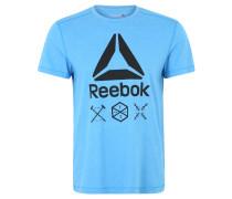 Trainingsshirt, Logo-Print, SpeedWick-Technologie, für Herren, Blau