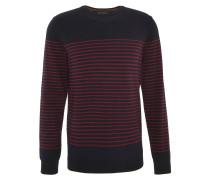 Pullover, Streifenmuster, Blau