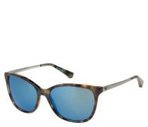 """Sonnenbrille """"EA 4025 5542/55, verspiegelte Gläser"""