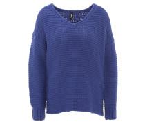 Pullover, Oversized-Look, V-Ausschnitt, Grobstrick
