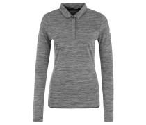 Poloshirt, kühlend, schnelltrocknend, für Damen, Grau