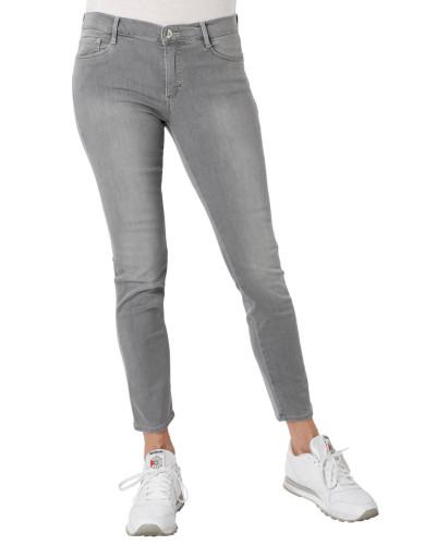 "Jeans ""Shakira"", Skinny Fit, Strass-Besatz, Kurzgröße"