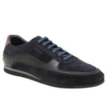 """Sneaker """"Hernas"""", Veloursleder, weiches Fußbett, Blau"""