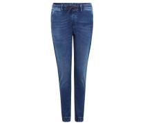 "Jeans ""Jogger"", Straight Fit, Stretch, Gummizug, Blau"