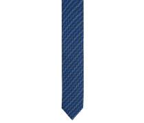 Krawatte, Seide, diagonales Streifen-Muster