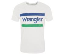 T-Shirt, Baumwolle, Front-Print, Marken-Schriftzug