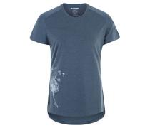 """T-Shirt """"Trovat"""", UV-Schutz, Print, für Damen, Blau"""