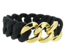 "Armband ""Original"" 106780 Edelstahl schwarz gold"