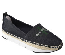 Slipper, Espadrilles-Look, Jeans-Design