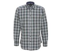 Hemd, Karo-Muster, Button-Down-Kragen, Baumwolle