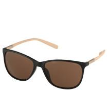 Sonnenbrille, Trapezform, Kontrastbügel