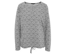 "Langarmshirt ""Clara"", Relaxed Fit, All Over-Muster, Zugband"