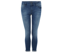 "Jeans ""Lexy"", Super Skinny Fit, Kurzgröße, Stretch"