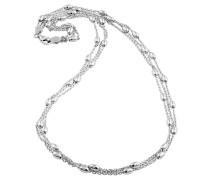 Kette, 925 Silber, 3-reihig
