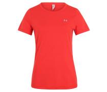 T-Shirt, Mesh, atmungsaktiv, LSF 30+, für Damen, Rot