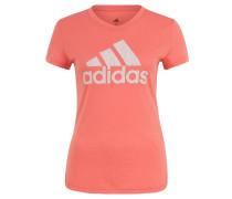 T-Shirt, atmungsaktiv, Logo-Print