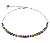 Kette, Swarovski-Kristalle, farbenfroh