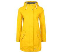 Regenjacke, winddicht, wasserdicht, für Damen, Gelb