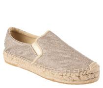 "Espadrilles ""Lawton"", glitzernd, Gold"