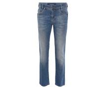 "Jeans-Hose ""Nevio-6"", Regular Fit, gerader Schnitt, Blau"