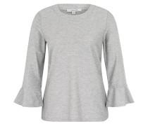 Shirt, 7/8-Arm, Glitzer, Trompetenärmel