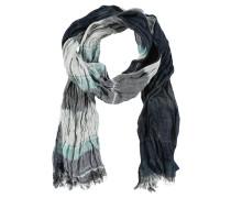 Schal, Knitter-Look, Karo-Muster