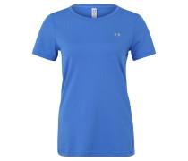 T-Shirt, atmungsaktiv, Perforationen, Blau