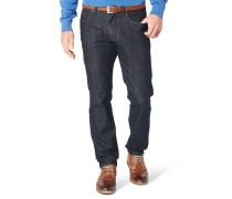 "Jeans-Hose ""Cadiz I"", gerader Schnitt, Blau"