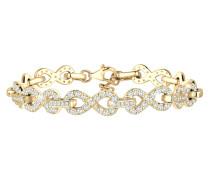 Armband Infinity Zirkonia 925 Silber
