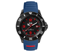 ICE carbon black & blue Herrenuhr CA.3H.BBE.B.S.15