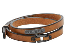 "Armband, ""COILED"", Leder, braun, DX0984040"