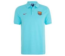 FC Barcelona Fan-Poloshirt, 2017/18, Türkis