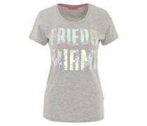 T-Shirt, Wendepailletten, meliert