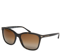 "Sonnenbrille ""EA4060"", Havanna-Stil, Verlaufsgläser"