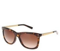 """Sonnenbrille """"MK 2046"""", goldene Bügel, Havana-Look"""