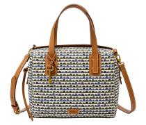 Handtaschen für Damen EMMA SATCHEL BLUE PRINT, Mehrfarbig