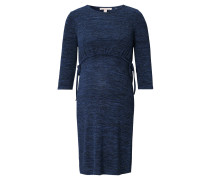 Still-Kleid, meliert, Bindband an Taille