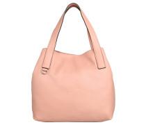 "Handtasche ""Mila"", Leder, Beutelform, Rosa"
