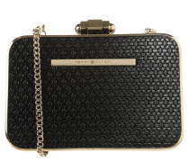 "Clutch ""Holiday Capsule"", Hardcover, Kette, Schwarz"