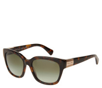 """Sonnenbrille """"RA 5221 15858E"""", grüne Verlaufsgläser"""