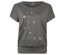 "T-Shirt ""Zita"", atmungsaktiv, für Damen, Grau"