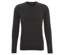 Pullover, Lammwolle, V-Ausschnitt