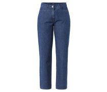 """Jeans """"Bina"""", Straight Fit, zwei Eingrifftaschen, Baumwollmix"""