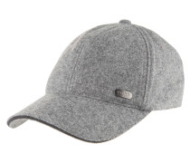 Cap, Woll-Mix, Logo-Emblem, verstellbar