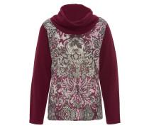Pullover, Paisley-Muster, Rollkragen
