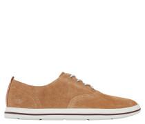 "Sneaker ""Coles Point Plain Toe Oxford"", Gummisohle, Braun"