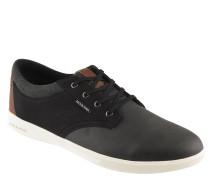 Sneaker, uni, herausnehmbares Fußbett
